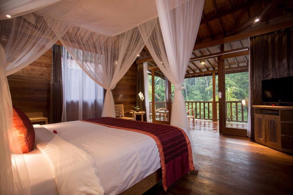 12 Unique and Best Places to stay in Ubud. Where to stay in Ubud Bali pertiwibisma1