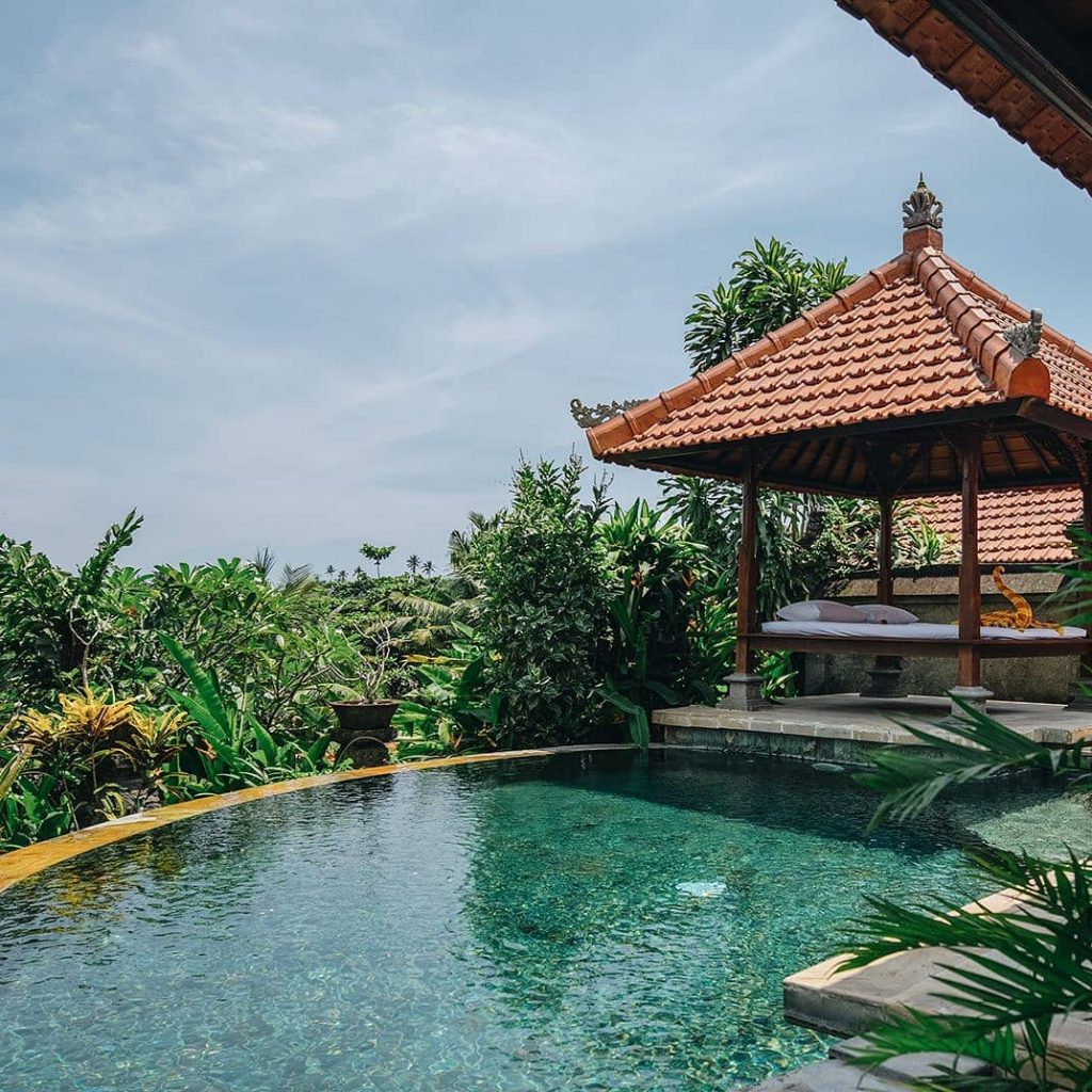 12 Unique and Best Places to stay in Ubud. Where to stay in Ubud Bali santi mandala