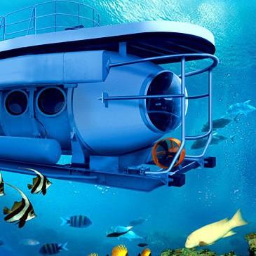 Bali Submarine Tour. Odyssey Submarine Bali.