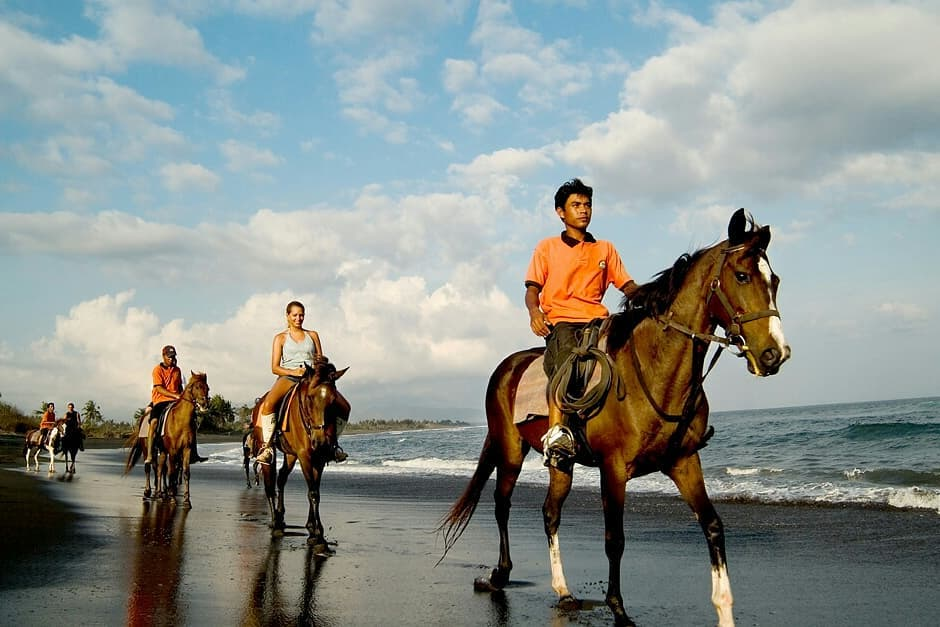 Horse Riding Bali Beach