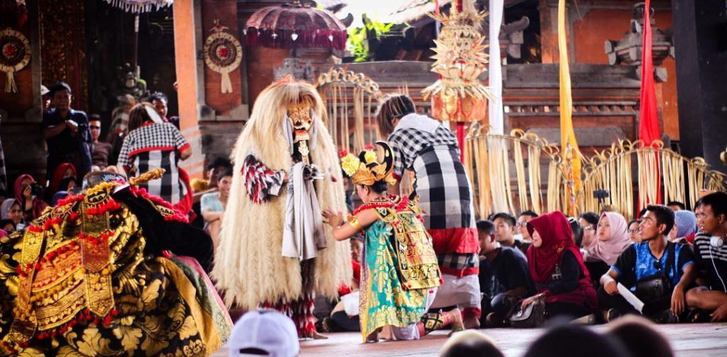 Kintamani and Ubud Tour. Kintamani Tour with Ubud Village. Barong and Keris Dance Bali Indonesia