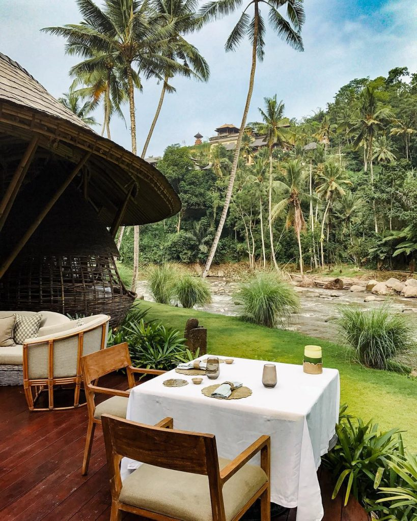 8 Best Restaurants in Ubud Kubu at Mandapa by Ritz-Carlton Reserve